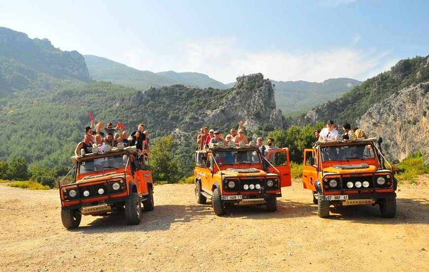 Jeep Safari Tour in Marmaris