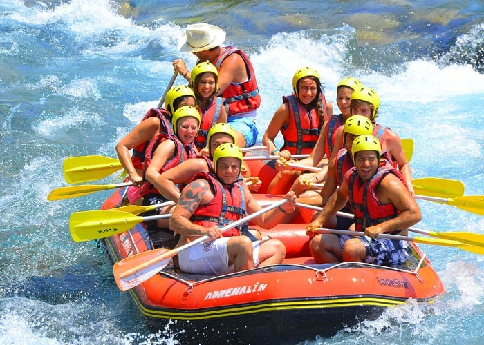 River Water Rafting Tour in Dalaman