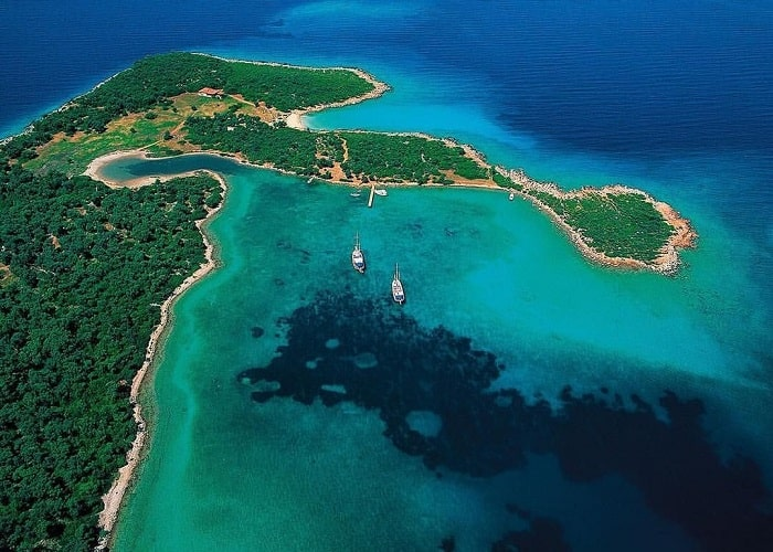 The national park of Marmaris
