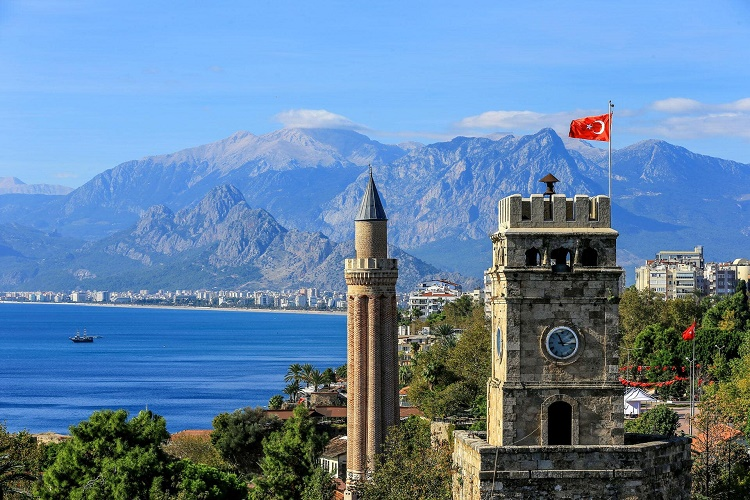 Castle Sights in Antalya's old town