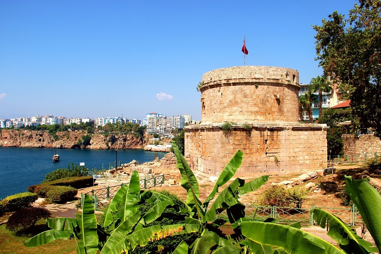 Where in Turkey is Antalya located?